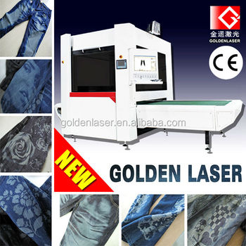 Denim Jeans Laser Marking Machine Galvo (seeking distributors)