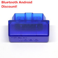 OBD2 OBD II 2 OBDII ELM327 elm 327 Car Auto Diagnostic Scanner Scan Tool V1.5 Mini Bluetooth free DHL