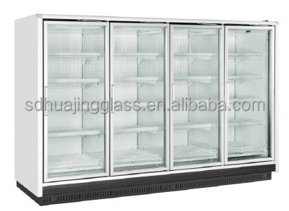 Eco friendly supermarket glass door freezer display for Eco friendly doors