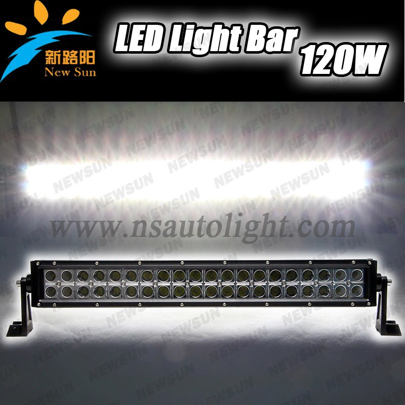 20 inch 120w off road led light bar,car accessory,led driving light,waterproof,for 4x4,SUV,ATV,4WD,truck,CE,IP68