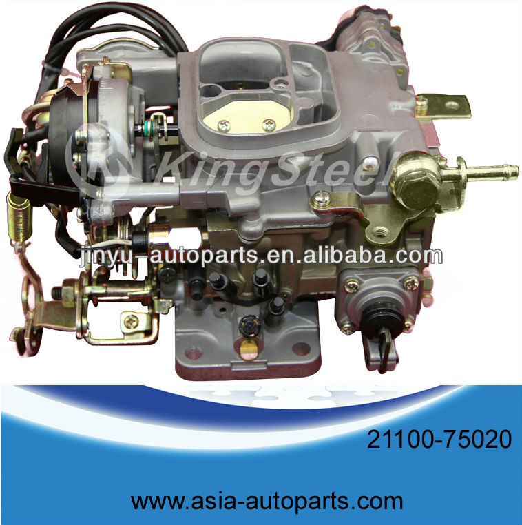 types of auto carburetor parts for Japanese car TOYOTA COASTER 1RZ 21100-75020