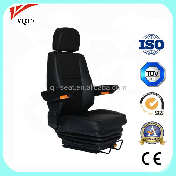 Luxury vip bus driver seat with special turning