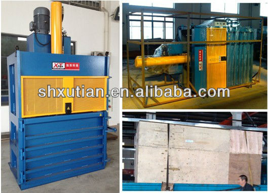 2015 Hot sale good quality PE/PP film/soft plastic balers