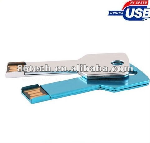 metal house key shaped usb flash drives/usb pen drive/usb memory stick Wholesale