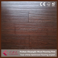 Guangzhou stock distressed handscraped bamboo flooring