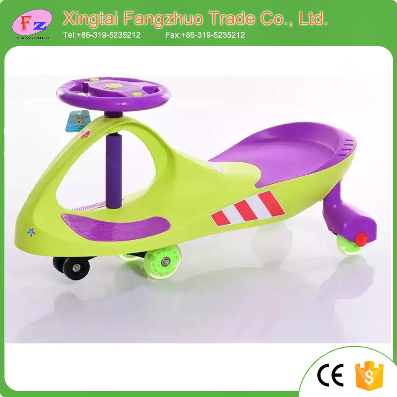 2017 New Children Baby Kids Twist Car Swing Car Wiggle Car