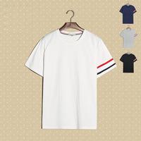 Fashion Daily Sport Casual Wear OEM Designs Custom T Shirt Bamboo joint tshirt