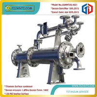 The best design from Jijanti titanium clad evaporator