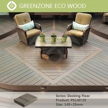High quality garden balcony outdoor flooring china supplier wpc decking in spain