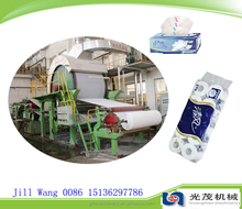 Power-saving single cylinder mould and single wire Toilet tissue paper napkin making machinery price