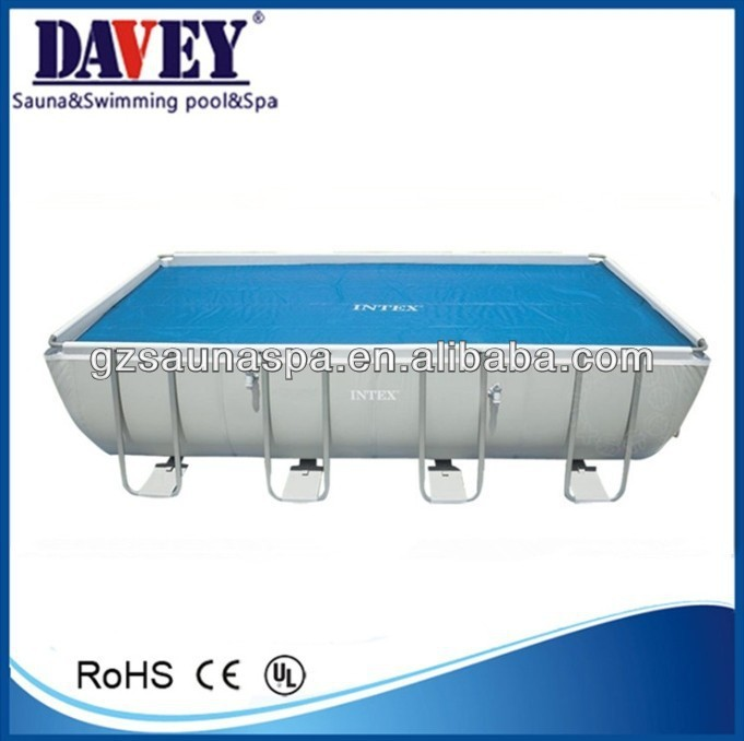 Guangzhou manufacture intex steel frame metal wall swimming pool