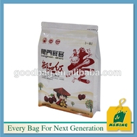 China wholesale self adhesive candy/sugar/snack food plastic bags with zipper