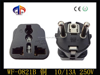WF-0821i high quality CE ROHS socket electric adapter