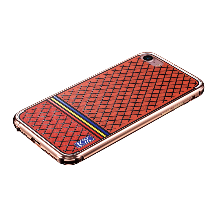 TPU PC color painting mobile case wholesale metal bumper 2 in 1 case for IPhone 7