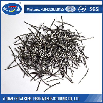 Rust Resistance Stainless Steel Fibers For Producing Indigenously Refractory Reinforcing Materials