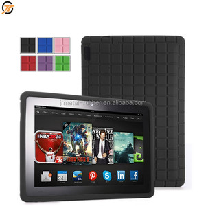 New cover with android case keyboard kindle fire hd rubber bumper case for amazon kindle file HD 8 inch tablet silicone case