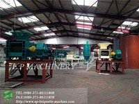 High heating value 10-15 t/h coal briquette production plant