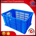 stackable vented plastic crate pp material
