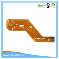 custom made polyimide yellow double side fpc board printed flexible circuit