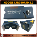 2017 Best selling virtual reality 3d glasses cardboard vr googles