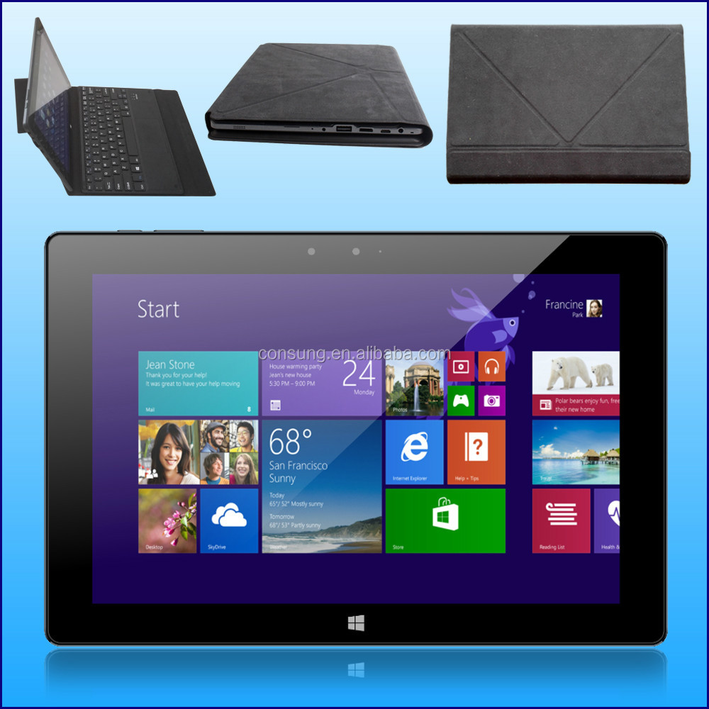 10.1 inch Win10/Android5.1 2 in 1 3G/4G tablet PC 2GB RAM/32GB ROM