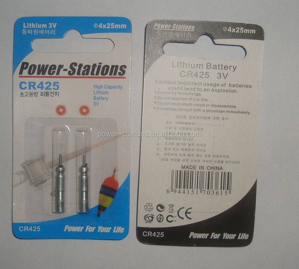 cr425 br425 lithium battery