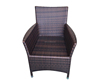 wholesale outdoor furniture metal frame wicker chair