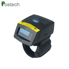 Wearable Warehouse Mobile Portable Finger Laser 1D Barcode Scanner Mini Wireless Bluetooth Android Barcode Scanners With Memory
