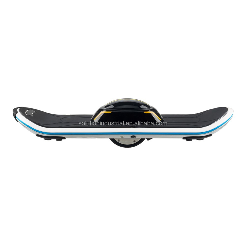 New Products 2016 China Factory Unicycle Scooter LED Bluetooth One Wheel Electric Skateboard Quality Assured