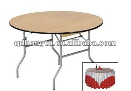 custom -made wooden folding banquet tables