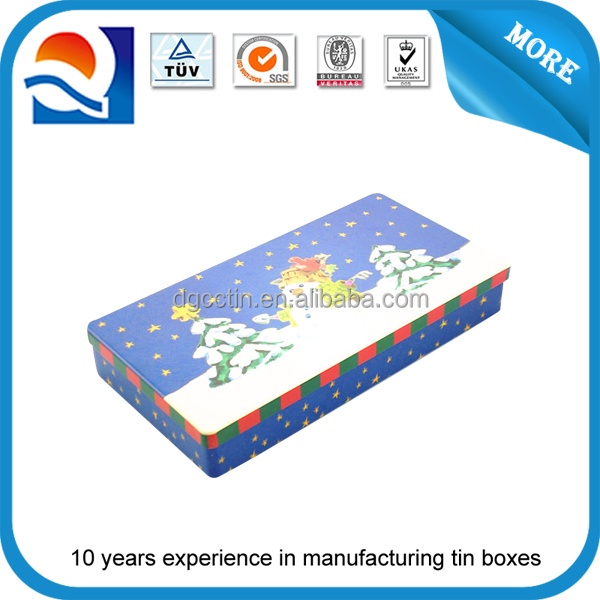 Metal Box Right Angle Corner 90 Degree Outside Corner Tin Box