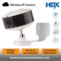 Wireless IP Two Way Audio 1MP HD New Mini Pan Tilt Zoom Nightvision Indoor Hidden Wifi Audio Support Camera