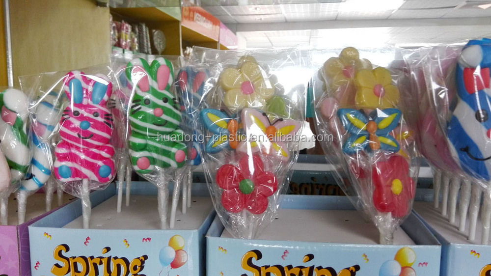 Plastic candy sticks/lollipop sticks