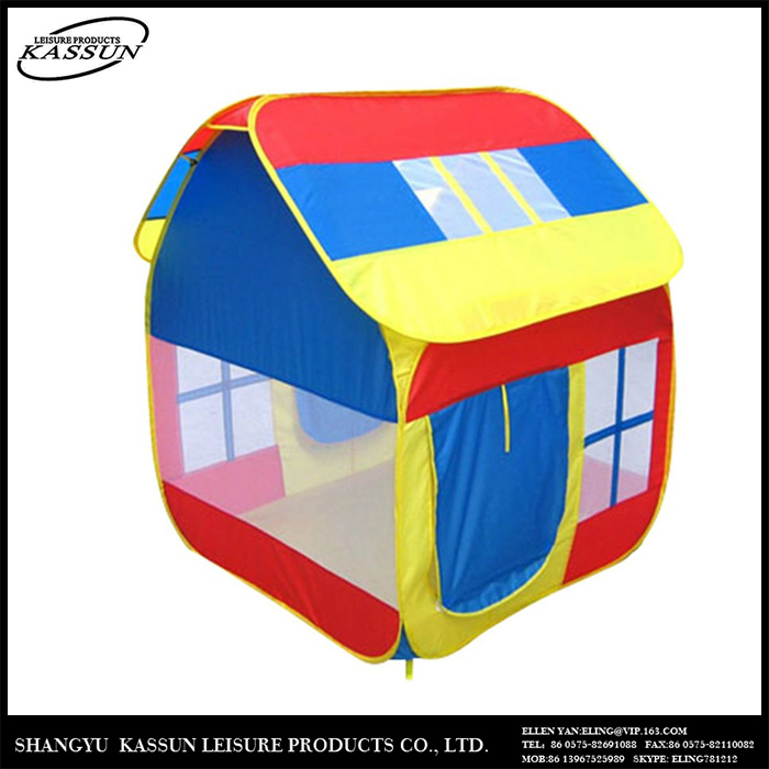 Competitive price custom printed uv resistant play house tent