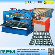 Hydraulic Cutting Concrete Metal Roofing Glazed Tile Roll Forming Machines For Construction