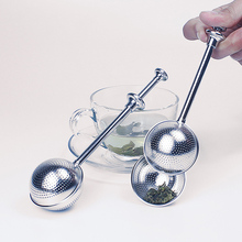Round Stainless Steel Tea Infuser Tea Flavored Coffee Filter