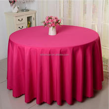 Polyester Banquet Decorative Round Cloth Table Covers