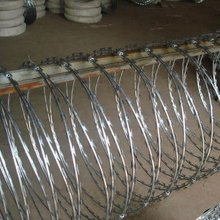 Air port fence (razor wire mesh fencing)