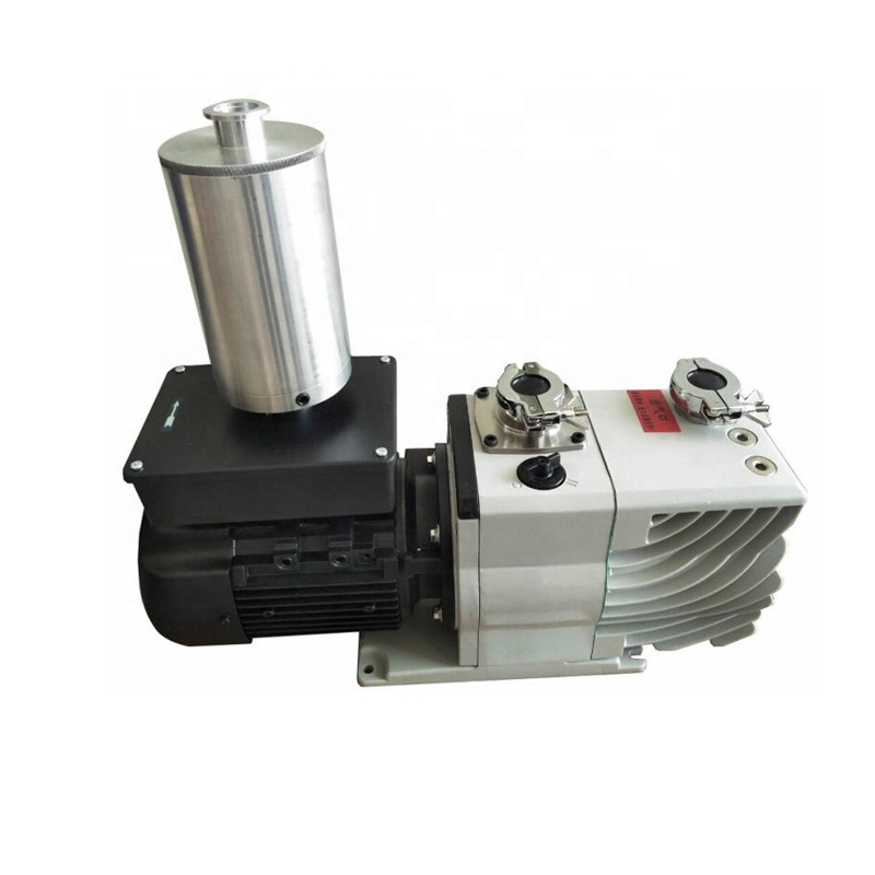 China manufacture Compact Less Noise Oil-free Scroll Dry Vacuum Pump with Air Flush system, 300 L/min