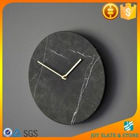 Natural marble handicraft/marble watch/wall clock