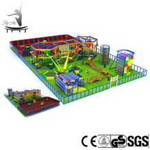 Zipline and high ropes training course construction supplies