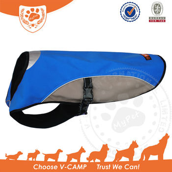 My Pet Outdoor Dog Jacket with High Visibility Material