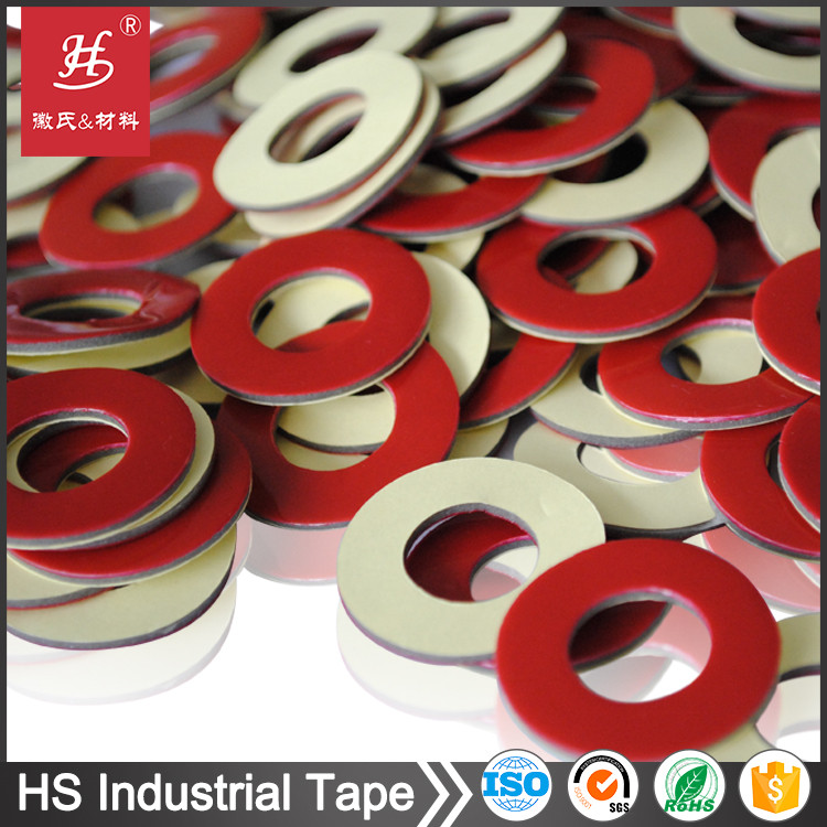 Industrial Adhesive custom sticker die cut pet tape dots