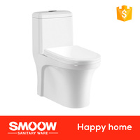 8053 SMOOW The best design one piece shower toilet with cistern