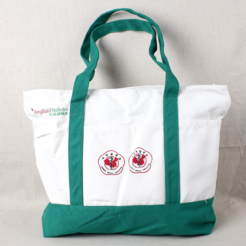 wholesale promotional waxed canvas cotton tote bags
