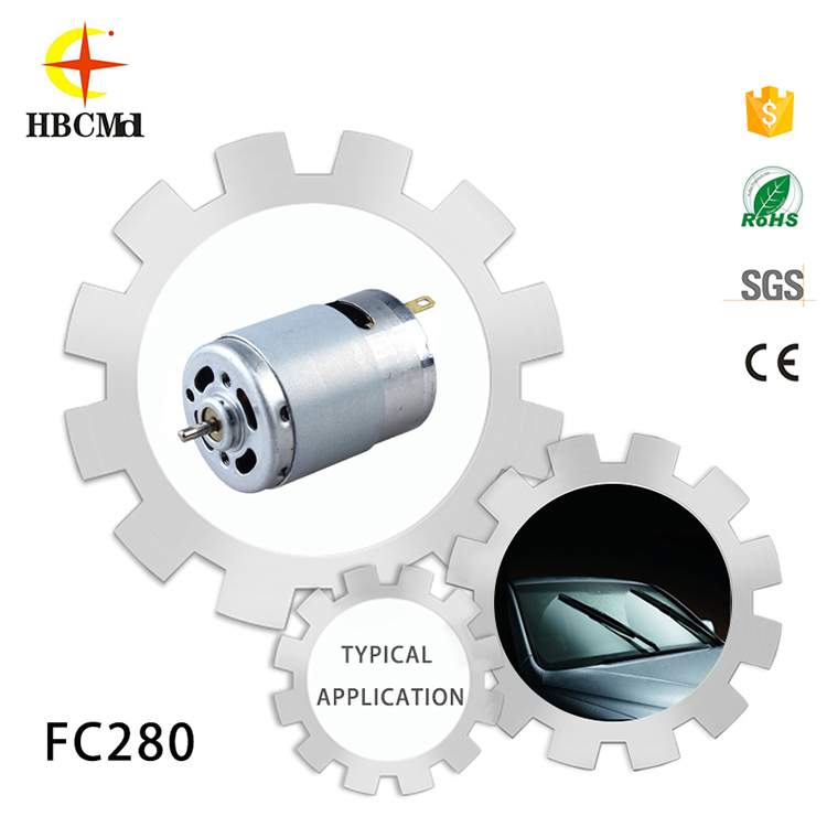 HFC280 factory wholesale price car side electric motor for rearview mirror