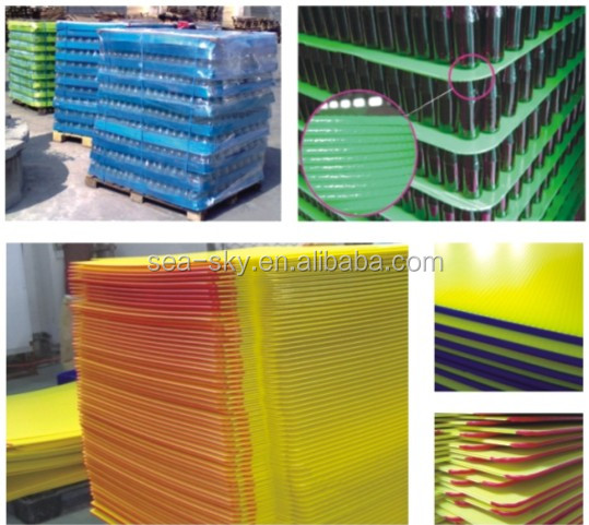 China customized manufacturer PP Material Polypropylene Plastic board / sheet