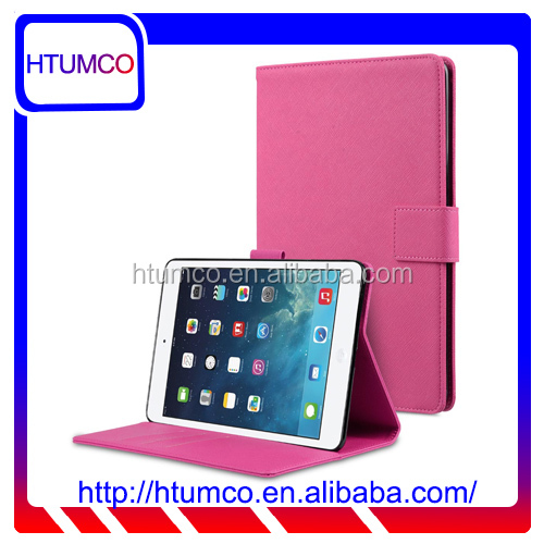 Hot Selling Stand Cover PU Leather Case for Apple iPad mini 4