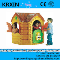 cheap plastic kids outdoor playhouse for sale