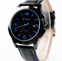 Top grade promotional lady watch woman watch leather watch